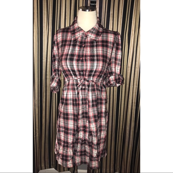 LAmade Dresses & Skirts - Vintage plaid flannel dress